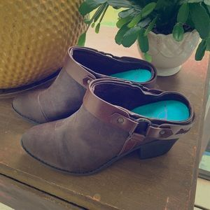 Blowfish ankle booties shoes